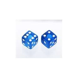 ALL PARTS PK3250068 TRANSPARENT BLUE DICE KNOBS (2 PIECES) WITH SET SCREW