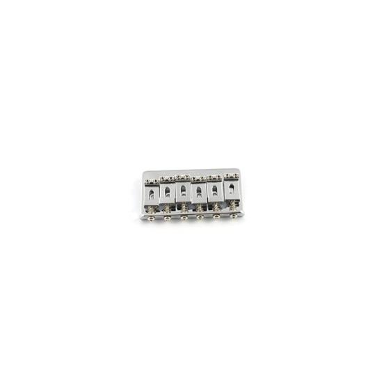 ALL PARTS SB0100010 NON-TREMOLO STEEL BRIDGE FOR STRAT CHROME PLATED