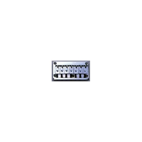 ALL PARTS SB5100010 7-STRING NON-TREMOLO GUITAR BRIDGE CHROME STEEL