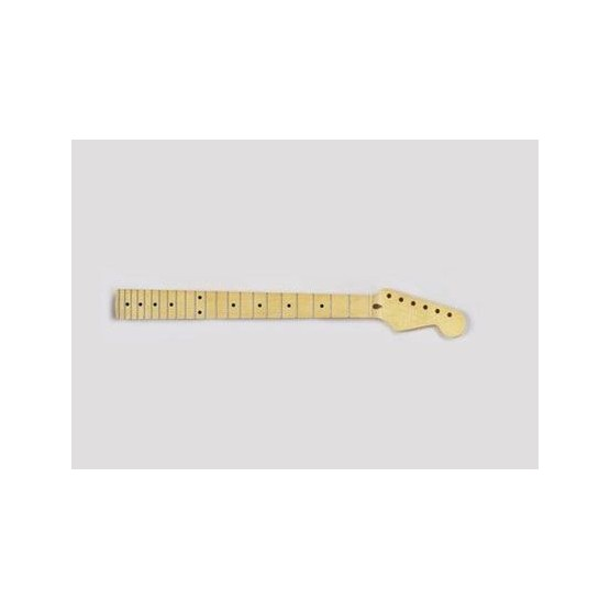 ALL PARTS SMF REPLACEMENT NECK FOR STRAT SOLID MAPLE, 22 JUMBO FRETS, 12 RADIUS, WITH FINISH