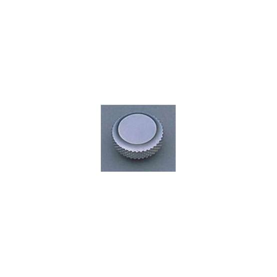 ALL PARTS TK7705011 LARGE KNOB FOR THE BACK OF SCHALLER LOCKING TUNING KEYS, SATIN CHROME
