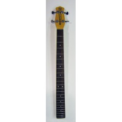 DANELECTRO DBRF NECK FOR LONGHORN BASS NATURAL FINISH WITH TUNING KEYS 24 FRETS.