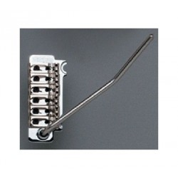 WILKINSON SB5318003 BY GOTOH VG300 TREMOLO, WITH HARDWARE, BLACK, 2-1/8 STRING SPACING.