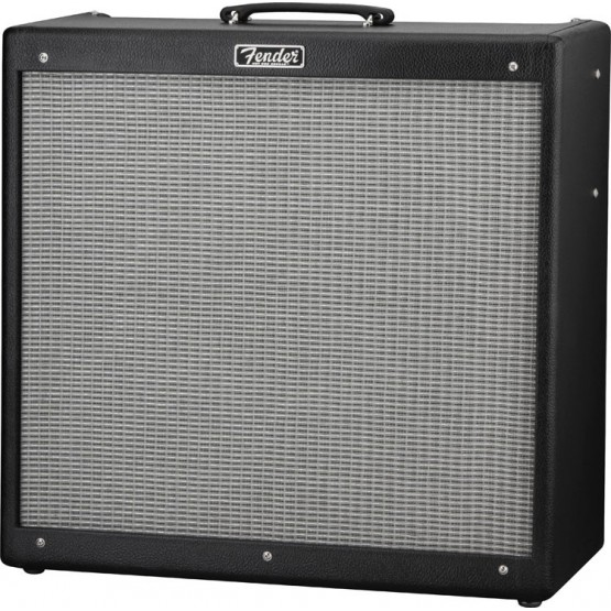 FENDER HOT ROD DEVILLE III 410 BLACK AMPLIFICADOR GUITARRA.