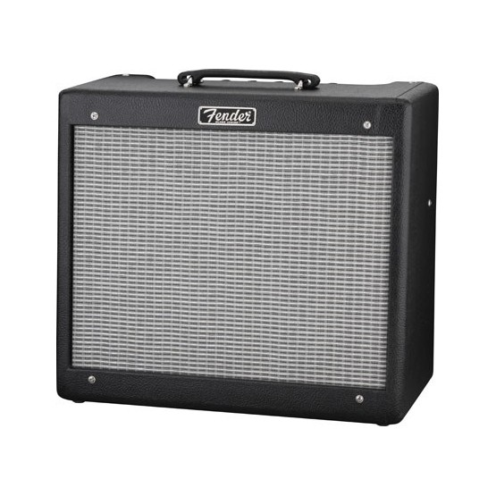 FENDER BLUES JUNIOR III SERIE HOT ROD AMPLIFICADOR GUITARRA NEGRO. DEMO.
