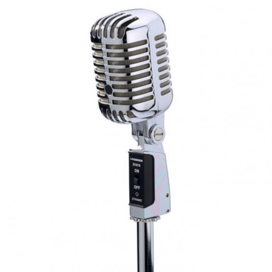 LD SYSTEMS D1010 MICROFONO DYNAMICO VOCAL ESTILO RETRO (ELVIS)