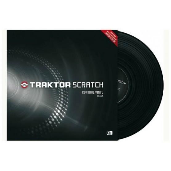 NATIVE INSTRUMENTS BLACK VINILO PARA TRAKTOR SCRATH PRO DJ LINE