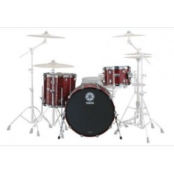 YAMAHA RT2F3A ROCK TOUR BATERIA TEXTURED RED. DEMO.