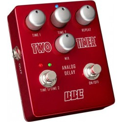 BBE TWO TIMER PEDAL EFECTO DELAY ANALOGICO