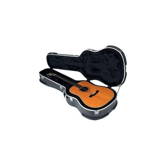 ROCKBAG RCA10509S ESTUCHE ABS GUITARRA ACUSTICA ESTANDAR GRIS