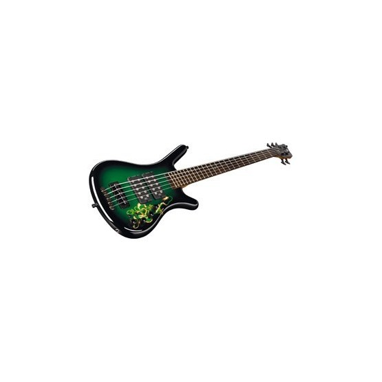 WARWICK GREENDRG5 CORVETTE $$ GREEN DRAGON SPECIAL EDITIONS BAJO ELECTRICO