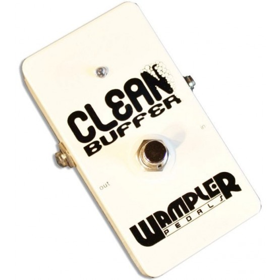WAMPLER CLEAN BUFFER WITH SWITCH PEDAL. DEMO.