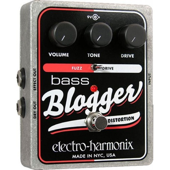 ELECTRO HARMONIX BASS BLOGGER PEDAL DISTORSION