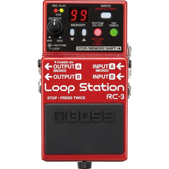 BOSS RC 3 PEDAL LOOPER