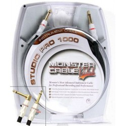 MONSTER SP1000I12A CABLE INSTRUMENTO STUDIO PRO 3,65 METROS ANGULO.