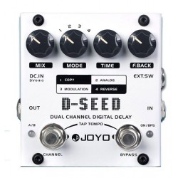 JOYO D SEED PEDAL DELAY DIGITAL. DEMO.