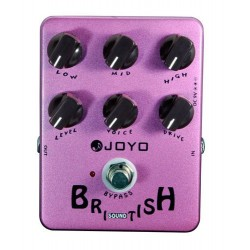 JOYO JF 16 BRITISH SOUND PEDAL DISTORSION