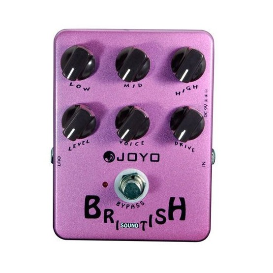 JOYO JF 16 BRITISH SOUND PEDAL DISTORSION