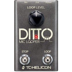 TC HELICON DITTO MIC LOOPER PEDAL VOZ.