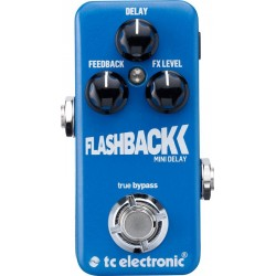 TC ELECTRONIC FLASHBACK MINI DELAY PEDAL.