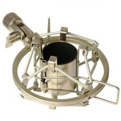 LD SYSTEMS DSM 40 SOPORTE DE ARAÑA PARA MICROFONO 40 X 44 MM PLATA.