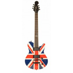 INDIE 1331 GUITARRA ELECTRICA SHAPE FLAG UNION JACK.