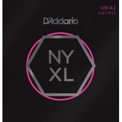 D'ADDARIO NYXL0942 JUEGO CUERDAS GUITARRA ELECTRICA 009-042