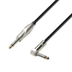 ADAM HALL K3IPR0900 CABLE INSTRUMENTO 6.3 MM JACK MONO A 6.3 MM ACODADO JACK MONO 9 METROS