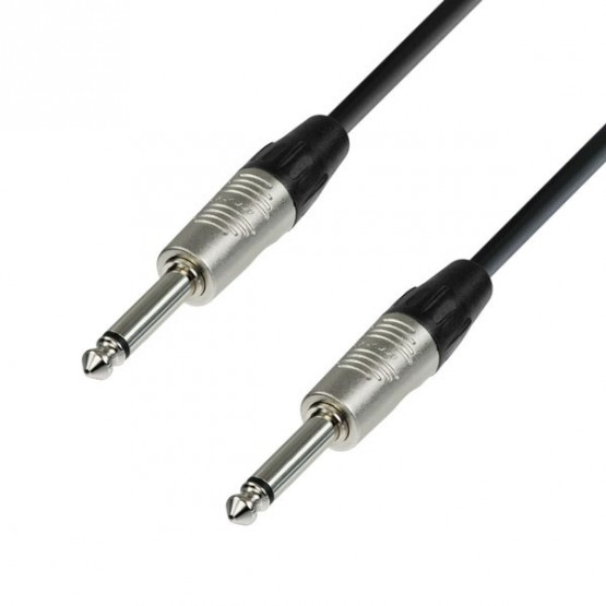 ADAM HALL K4IPP0030 CABLE INSTRUMENTO REAN 6.3 MM JACK MONO A 6.3 MM JACK MONO 0.3 M