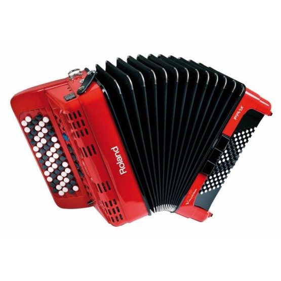 ROLAND FR1XB RD V ACCORDION ACORDEON DIGITAL BOTONES ROJO