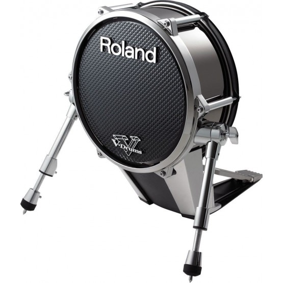 ROLAND KD140BC PAD BOMBO BATERIA ELECTRONICA NEGRO CROMADO