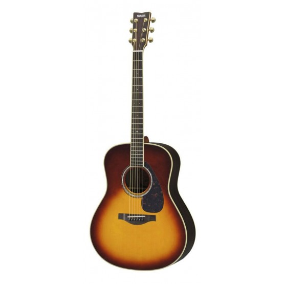 YAMAHA LL6 ARE BS GUITARRA ELECTROACUSTICA BROWN SUNBURST
