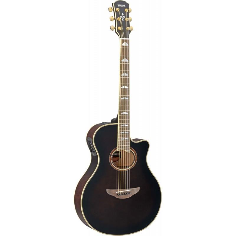 Yamaha apx1000 guitarra electroacustica mocha black for Guitarras barcelona