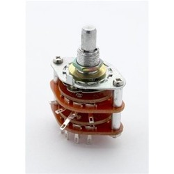 ALL PARTS EP4371000 4POSITION ROTARY SWITCH.