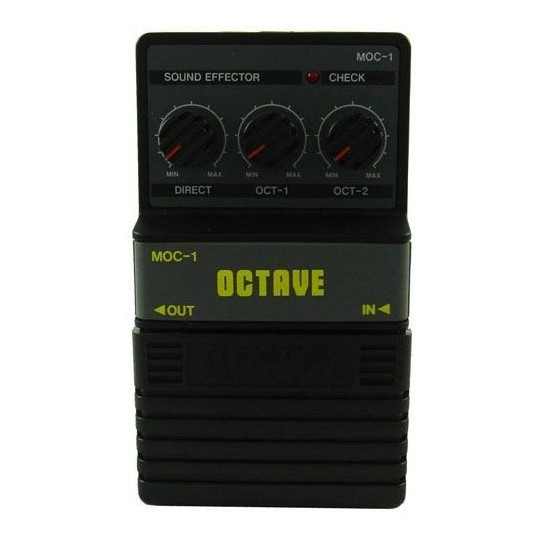 ALL PARTS MOC1 ARION OCTAVE EFFECTS PEDAL.