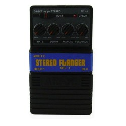 ALL PARTS SFL1 ARION STEREO FLANGER EFFECTS PEDAL.
