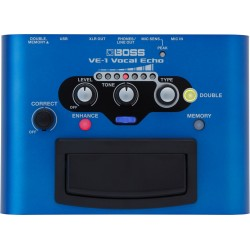 BOSS VE-1 VOCAL ECHO PEDAL VOCAL