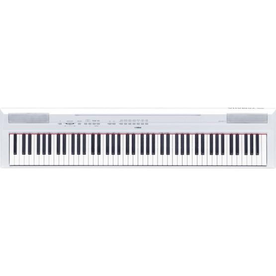 YAMAHA P115 WH PIANO DIGITAL PORTATIL BLANCO.