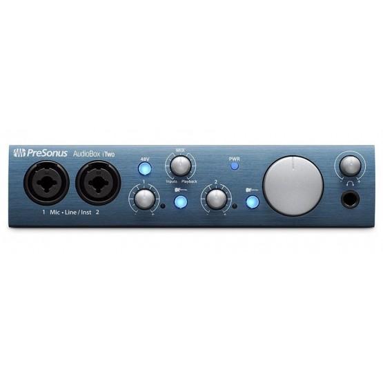 PRESONUS ITWO AUDIOBOX INTERFAZ DE AUDIO 2X2 USB