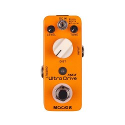 MOOER ULTRA DRIVE MKII PEDAL DISTORSION