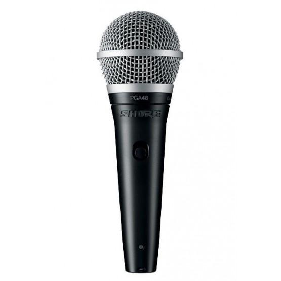 SHURE PGA48-XLR-E MICROFONO VOCAL DINAMICO