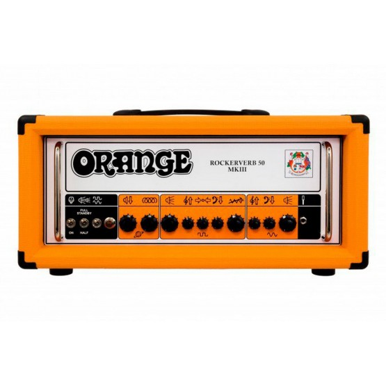 ORANGE ROCKERVERB 50H MKIII AMPLIFICADOR CABEZAL GUITARRA
