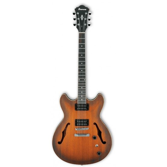IBANEZ AS53 TF GUITARRA ELECTRICA HOLLOW BODY TOBACCO FLAT