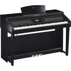 YAMAHA CVP701 PE PIANO DIGITAL CLAVINOVA NEGRO PULIDO