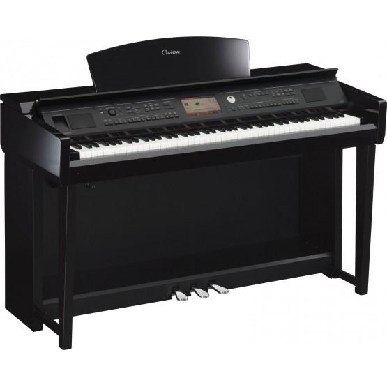 YAMAHA CVP705 PE PIANO DIGITAL CLAVINOVA NEGRO PULIDO