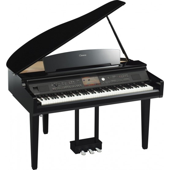 YAMAHA CVP709 GP PIANO DIGITAL CLAVINOVA NEGRO PULIDO