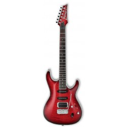 IBANEZ SA360QM TRB GUITARRA ELECTRICA TRANSPARENT RED BURST.