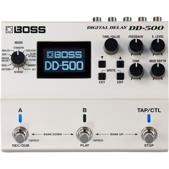 BOSS DD500 PEDAL DELAY DIGITAL