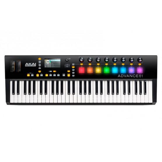 AKAI ADVANCE61 CONTROLADOR MIDI USB