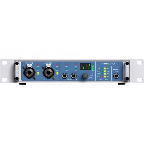 RME FIREFACE UCX INTERFAZ DE AUDIO USB FIREWIRE